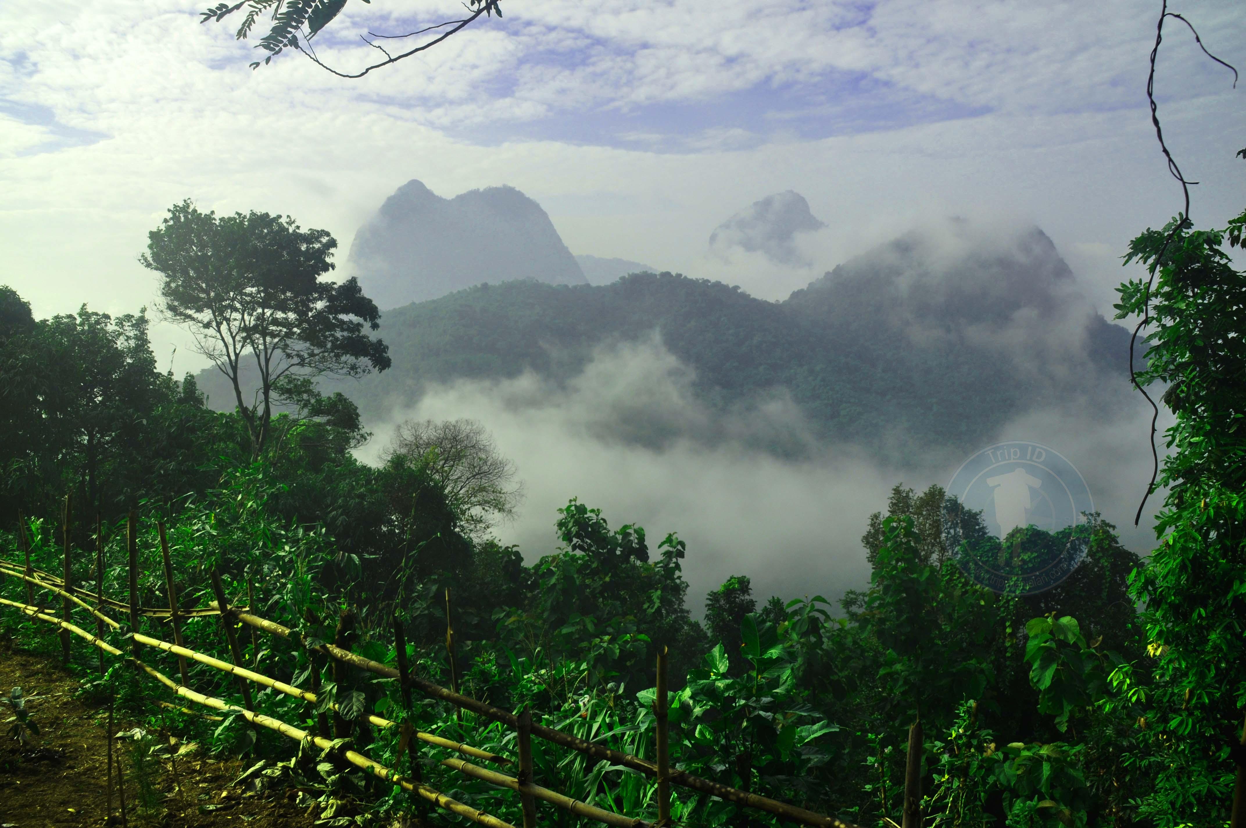 Peresmian gunung cikuray, gunung cikuray ersmi jadi wisata pendakian