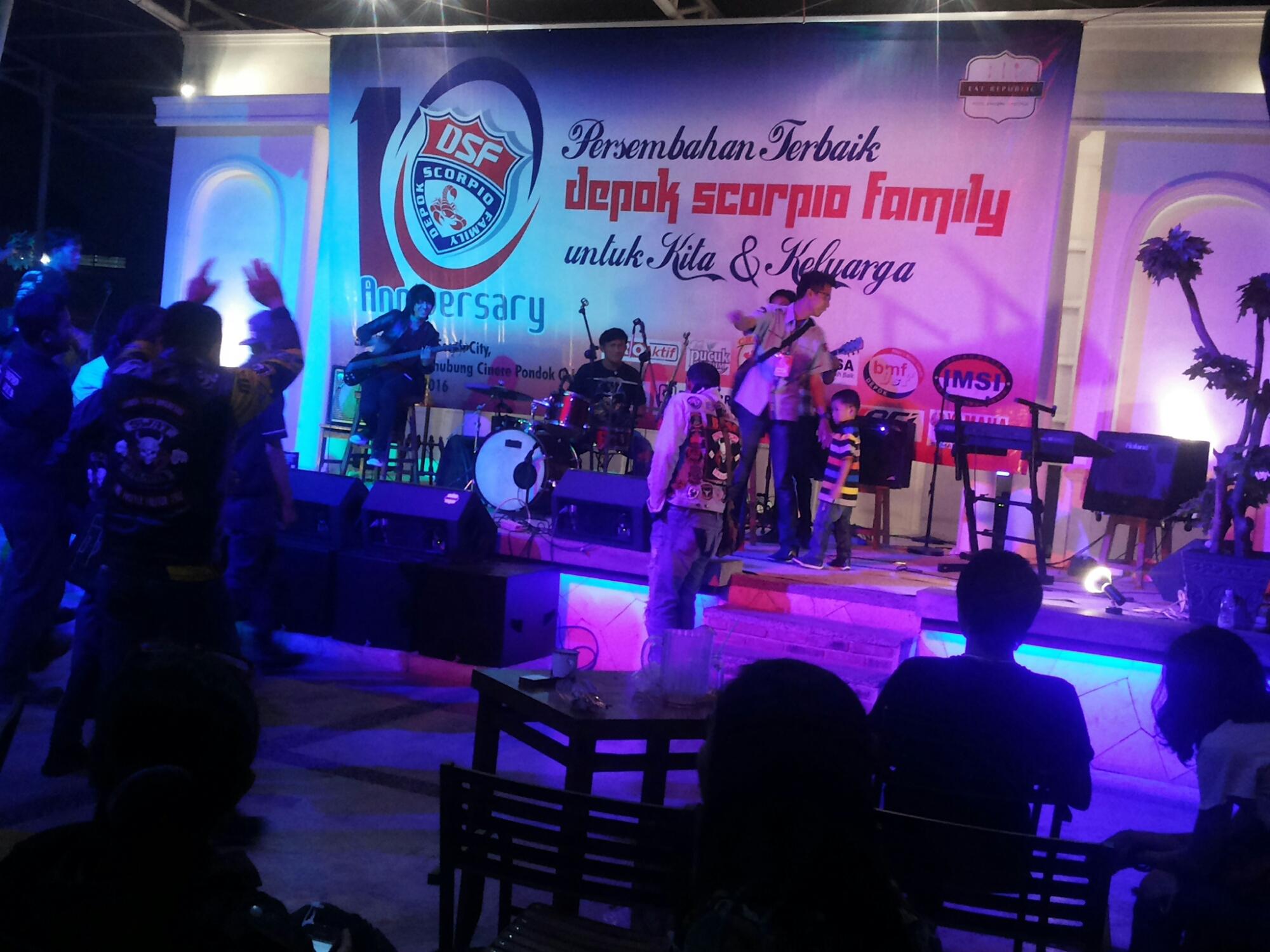 Depok Scorpio Family, DSF, Aniversary Depok Scorpio family
