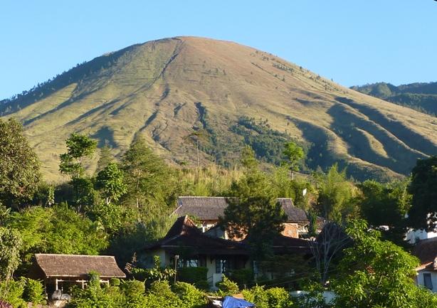 gunung guntur di garut jawa barat