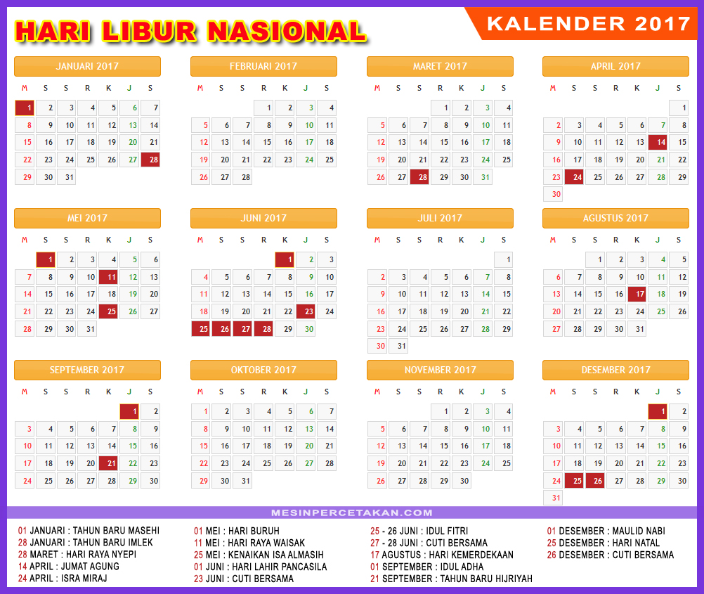 Download Kalender 2017 1