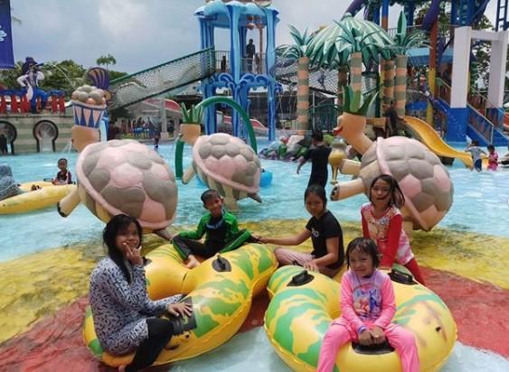 tiket masuk Water Park Citra Garden