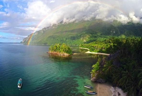 Pulau Sedikit Penduduknya di Indonesia
