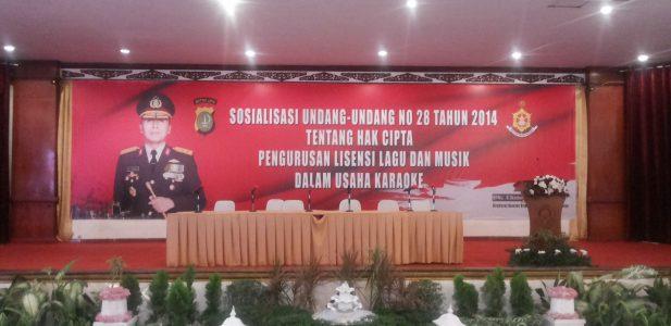 Polda Metro Jaya Gelar Sosialisasi Undang Undang Hak Cipta