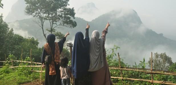 Peresmian Gunung Cikuray Sebagai Wisata Pendakian